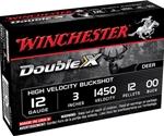 "Winchester Double X Magnum 12 Gauge 3"" Buffered 00 CP Buckshot"