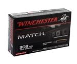 Winchester Supreme 308 Winchester 168 Grain MatchKing BT HP