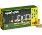 Remington HTP 380 ACP Auto 88 Grain Jacketed Hollow Point