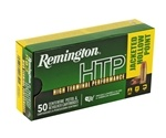 Remington HTP 9mm Luger +P 115 Grain Jacketed Hollow Point