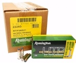 Remington HTP 38 Special Ammo +P 125 Grain Semi JHP