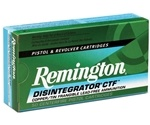 Remington Disintegrator 357 SIG Ammo 100 Grain Lead Free Frangible
