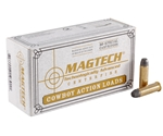 Magtech Cowboy Action 38 Special Ammo 125 Grain Lead Flat Nose