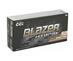 CCI Blazer Brass 9mm Luger Ammo 124 Grain Full Metal Jacket