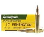 Remington Express 17 Remington 25 Grain Hornady Hollow Point