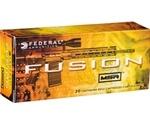 Federal Fusion MSR 6.8mm Remington Special Ammo 115 Grain SP
