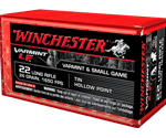 Winchester Super-X 22 Long Rifle 26 Grain Hollow Point Lead-Free