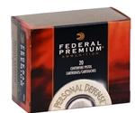 Federal Personal Defense 9mm Luger Ammo 147 Grain Hydra-Shok JHP