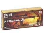 Federal Fusion MSR 223 Remington Ammo 62 Grain Spitzer BT