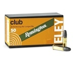 Remington Eley Club Extra 22 Long Rifle Ammo 40 Grain Lead Round Nose