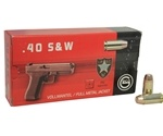 Geco 40 S&W Ammo 180 Grain Full Metal Jacket