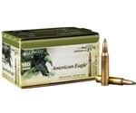 Federal American Eagle 5.56x45mm NATO Ammo 62 Grain FMJ 150 Round