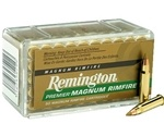 Remington Premier 17 HMR 17 Grain Accutip-V Boat Tail
