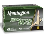 Remington Match 223 Remington Ammo 62 Grain HP