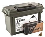 CCI Blazer Brass 9mm Luger 115 Grain FMJ Ammo Can