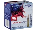 Federal American Eagle 5.56x45mm NATO Ammo 55 Grain FMJ Boat Tail