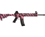 Smith & Wesson M&P15-22 Rifle A-1 Style Pink Platinum New 811051