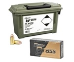 CCI Blazer Brass 45 ACP Auto Ammo 230 Grain Full Metal Jacket 200 Round in Ammo Can