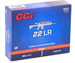 CCI AR Tactical 22 LR 40 Grain CPRN