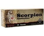 ATI Scorpion 22 LR High Velocity Ammo 40 Grain Solid Point