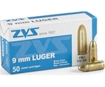 CIA ZVS 9mm Luger Ammo 115 Grain Full Metal Jacket