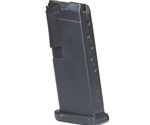 Glock 42 380 ACP 6 Rounds Magazine in Black Polymer