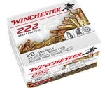 Winchester 22 Long Rifle 36 Grain Plated Lead Hollow Point 222 Round Box