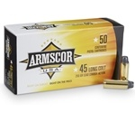Armscor USA 45 Long Colt Ammo 255 Grain Lead Round Nose