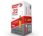 Aguila Interceptor 22 LR Ammo 40 Grain Plated Lead Round Nose