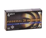 Federal LE 45 ACP AUTO Ammo 230 Grain +P HST JHP