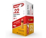 Aguila High Velocity 22 Short Ammo 29 Gr Plated Lead Round Nose