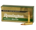 Remington Premier Match 223 Remington 69 Grain Boat Tail HP