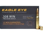 Eagle Eye Precision 308 Winchester Ammo 175 Grain HPBT