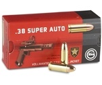 Geco 38 Super Ammo 124 Grain Full Metal Jacket