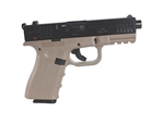 "ISSC Austria M22 Standard 22 Long Rifle 10 Round 4"" Handgun with Polymer Grip in Desert"