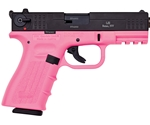 "ISSC Austria M22 Standard 22 Long Rifle 10 Round 4.3"" Handgun with Polymer Grip in Pink and Black"