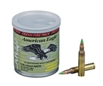 Federal American Eagle 5.56 Ammo 62 Gr FMJ 30 Rds Fresh Fire Can