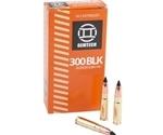 Gemtech Ammunition 300 AAC Blackout Ammo 123 Grain Subsonic Polymer Tip