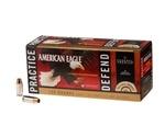 Federal American Eagle 40 S&W Ammo FMJ/ Hydra-Shok JHP Combo Pack