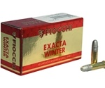 Fiocchi Exacta Super Match 22 Long Rifle Ammo 40 Grain Lead Round Nose