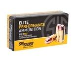 Sig Sauer Elite Performance 9mm Luger Ammo 115 Grain Full Metal Jacket