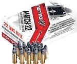 Norma USA Match 22 Long Rifle Ammo 40 Grain Lead Round Nose