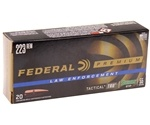 Federal Law Enforcement TRU 223 Remington Ammo 55 Grain SGK HP