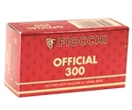 Fiocchi Exacta Pistol Super Match 22 Long Rifle Ammo 40 Grain Lead Round Nose