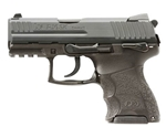 "H&K P30SK Handgun 9mm Luger V3 10+1 Rounds 3.27"" Barrel Ambidextrous"