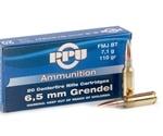 Prvi Partizan 6.5 Grendel Ammo 110 Grain FMJBT