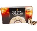 Federal Law Enforcement 45 ACP Auto 185 Gr +P Hydra-Shok JHP