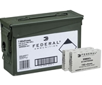 Federal 7.62x51mm NATO Ammo 149 Grain Full Metal Jacket 220 Rounds Ammo Can