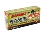 Barnes RangeAR 5.56x45mm Ammo NATO 52 Grain Open-Tip Match