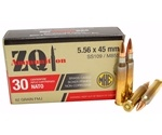 ZQI Ammunition 5.56x45mm M855 Ammo 62 Grain FMJ